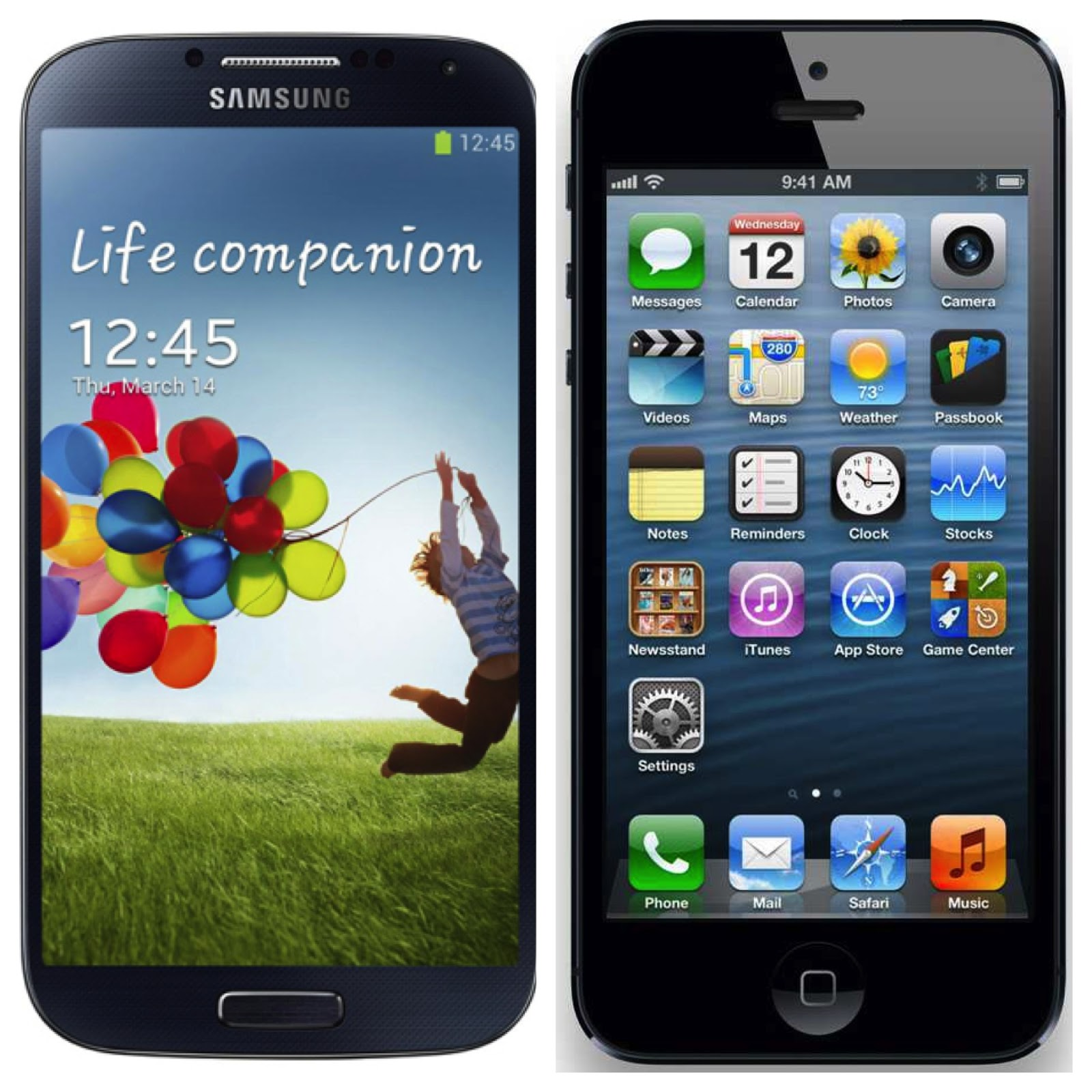 Differenze tra iphone5 e samsung s4