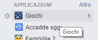 Giochi Facebook